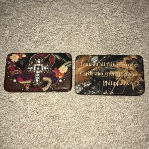 Handbags - Christian wallets.